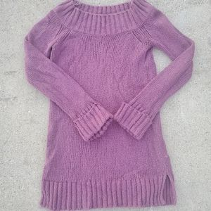 Shrinking Violet Scoopneck Sweater Dress sz XS